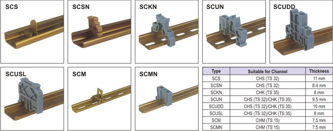 Accessories - End CLAMPS13B