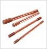 Solid Copper Earth Rod (Internally Threaded)
